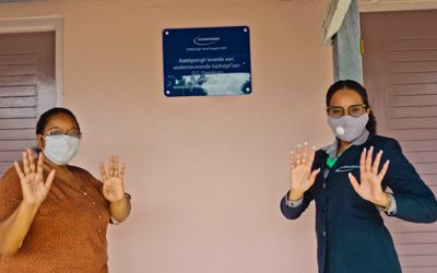 Kuldipsingh Renews Toilets of O.S. Domburg